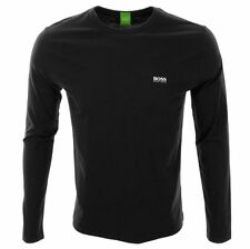 HUGO BOSS Patternless Crew Neck Casual Shirts & Tops for Men