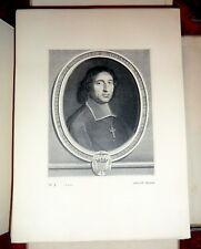 Catalogue de L'Oeuvre Grave  de Robert Nanteuil 2V LtdEd Text + Plates 1925 1stE