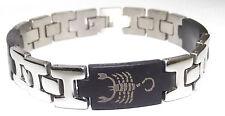 bracelet gourmette homme acier inoxydable argenté 11mm x 215mm homme femme n°7