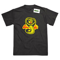 Cobra Kai Karate Kid Inspired Marshall Arts Kung Fu Printed T-Shirt