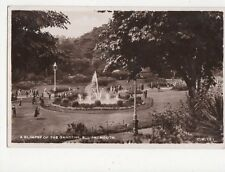 A Glimpse Of The Gardens Bournemouth RP Postcard  014a