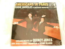 EDDIE BARCLAY Americans in Paris Don Byas Kenny Clarke SEALED LP Lucky Thompson