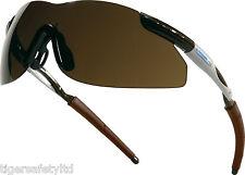 Delta Plus Venitex Thunder Bronze Safety Eyewear UV400 Sunglasses Glasses Specs