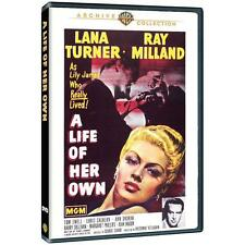 A Life of Her Own,New DVD, Ray Milland, Lana Turner,