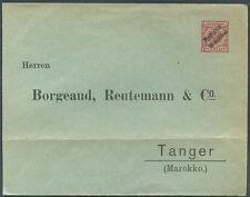GERMANY MOROCCO Old Postal Stationery w/Advertising FVF