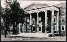 NASHVILLE TN Peabody College For Teachers East Dormitory Dorm Vtg RPPC Postcard