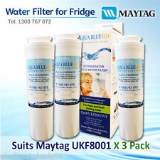 3X Maytag replacement water filter UKF8001, PuriClean II, Whirlpool WF50-KWI500,