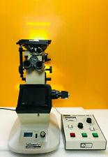 Unitron Versamet 2 X Y Stage Inverted Microscope Ae 1 Automatic Exposure Meter