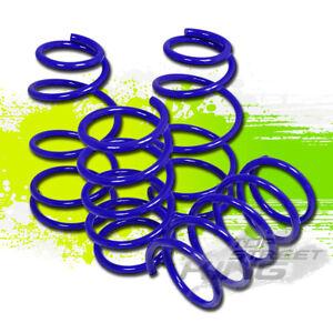 "1.7""DROP BLUE SUSPENSION LOWERING SPRINGS F+R for 97-03 PONTIAC GRAND PRIX V6"