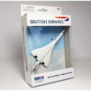 Premier Planes BRITISH AIRWAYS Concorde Toy Plane Diecast Model