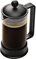 Bodum Brazil 3 cup French Press Coffee Maker, 12 oz, Black