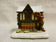 Lilliput Lane Christmas Tipple 2011 The British Collection L3431