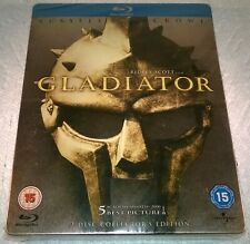 Gladiator Steelbook OOP Blu-ray UK IMPORT