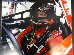 Dale Earnhardt Jr. (In Car) Signed 16x20 Photo Autograph Auto Mounted Memories