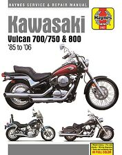 1985-2006 Kawasaki Vulcan 700, 750, 800 Haynes Repair & Service Manual NEW 22897