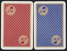 2 Single VINTAGE Swap/Playing Cards ELDRIDGE POPE HORSEMAN Gold Beer/Brewery