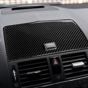 1pc For Mercedes-Benz C Class W204 2007-10 Carbon Fiber Console Navigation Cover