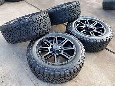 "20"" Toyota Tundra 2017 2018 TSS TRD BLACK OEM wheels rims tires 2014 2015 2016"