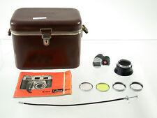 KODAK RETINA II III C accessory pack finder case instr filter lens shade RARE/18