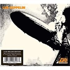 Led Zeppelin Deluxe Edition Rock Music CDs & DVDs