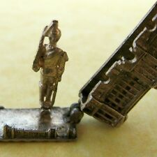 Vintage English Sterling Silver Buckingham Palace Charm Opens to Royal Guard
