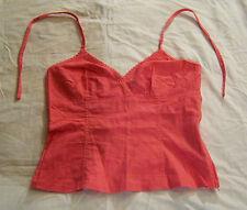 Corsage, h&m, talla 38, rosa, los diferentes materiales: 55% lino, 45% algodón