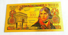 Billets de la banque française 100 Francs sur Bonaparte