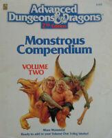 MC2: Monstrous Compendium Volume Two - Advanced Dungeons & Dragons - AD&D TSR