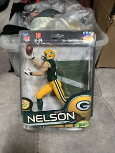 Jordy Nelson Green Bay Packers Action Figure clean bubble and card sealed