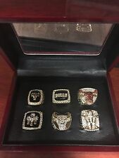 Chicago Bulls Championship Ring Set