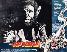 """OFFICIAL WEBSITE Stewart Moss """"The BAT People"""" (1974) 8x10 Photo AUTOGRAPHED"""