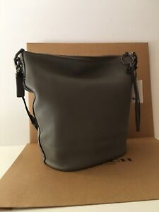 NWT Coach 29239 Duffle with Rivets in Pebble Leather 1941