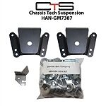 HAN-GM7387 Leaf Spring Hanger welded or bolton.   C10 1/2Ton     Sqrnose