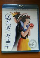 Disney Snow White and the Seven Dwarfs NS  (Blu-ray/DVD, 2016,  Digital Copy)