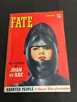 fate magazine The 10 Proofs Of Joan Of Arc September 1952