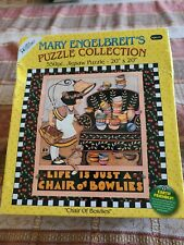 Mary Engelbreit's Puzzle Collection 550pc Chair of Bowlies
