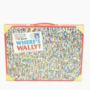"VINTAGE 1990 - 750 Piece Where's Wally? Puzzle - ""Department Store"" - V.Good"