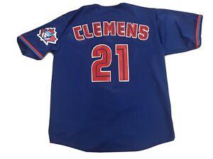 1997 RUSSELL ATHLETIC ROGER CLEMENS TORONTO BLUE JAYS MLB BASEBALL JERSEY SZ XL
