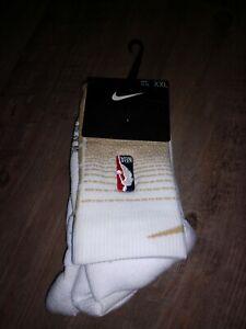 BRAND NEW! NIKE NBA TORONTO RAPTORS ADULT MEN'S SOCKS, GOLD 2XL, Size 15-18!