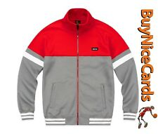 Drake's October's Very Own OVO Grey Colourblock Track Jacket Size Large Sold Out