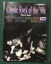 Classic Rock Of The '90s Heavy Rock Music Song Book Guitar Tab 2002