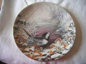RESTFUL RIVERBANK The Winter Garden Collection Plate by Wedgwood