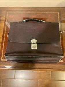 Vintage Cheney (England) Leather Brief Case