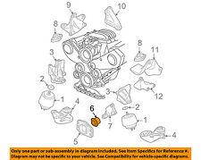 VW VOLKSWAGEN OEM 03-04 Passat Engine Motor Transmission-Stop 8D0199339L