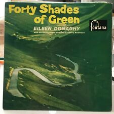 "EILEEN DONAGHY FORTY SHADES OF GREEN 1963 IRISH FOLK POP 7"" VINYL"