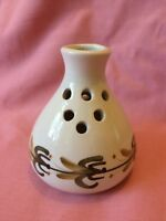 Jersey Pottery Vintage Hand Painted Posy Vase