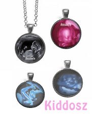 Sonogram PERSONALIZED PHOTO NECKLACE cabochon  baby photo keepsake baby gift