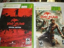 XBOX 360 DEAD ISLAND SPECIAL EDITION VIDEO GAME W/MANUAL USED UNTESTED