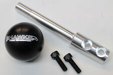 Camaro/Firebird Billet Aluminum Black Hawks Shift Knob w/ Short Shifter Stick