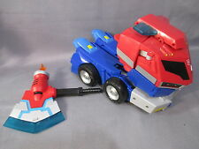 "Transformers Animated ""OPTIMUS PRIME ROLL OUT COMMAND"" Supreme Class Complete"